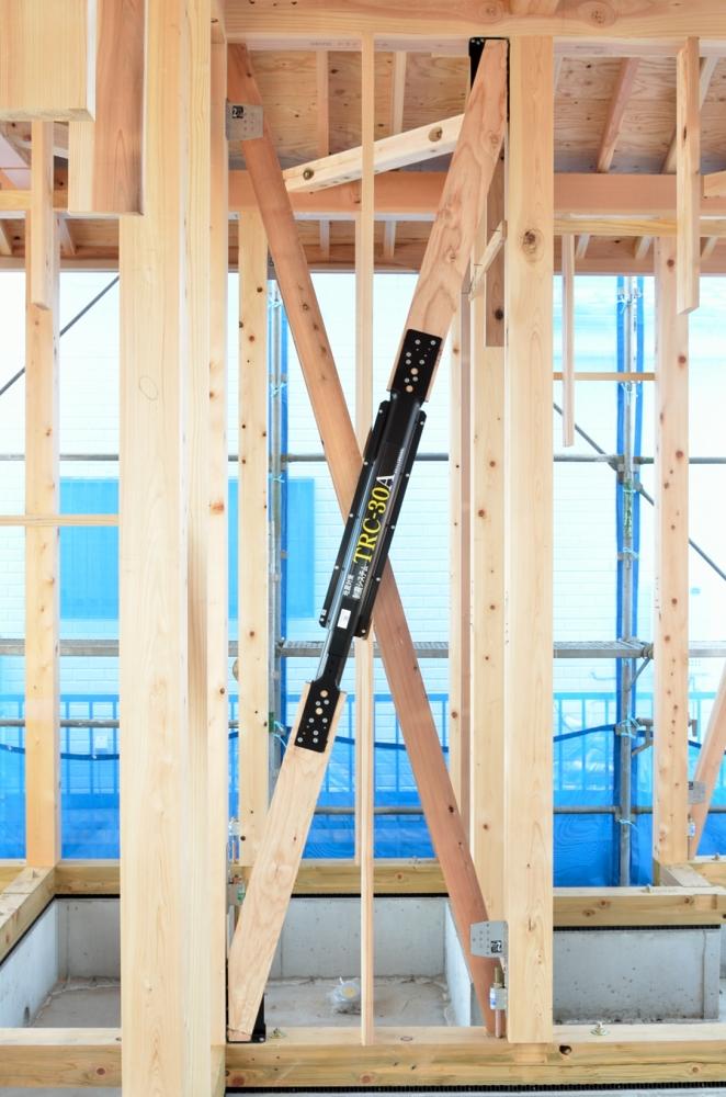 実際に現場で施工した木造住宅制震ダンパー