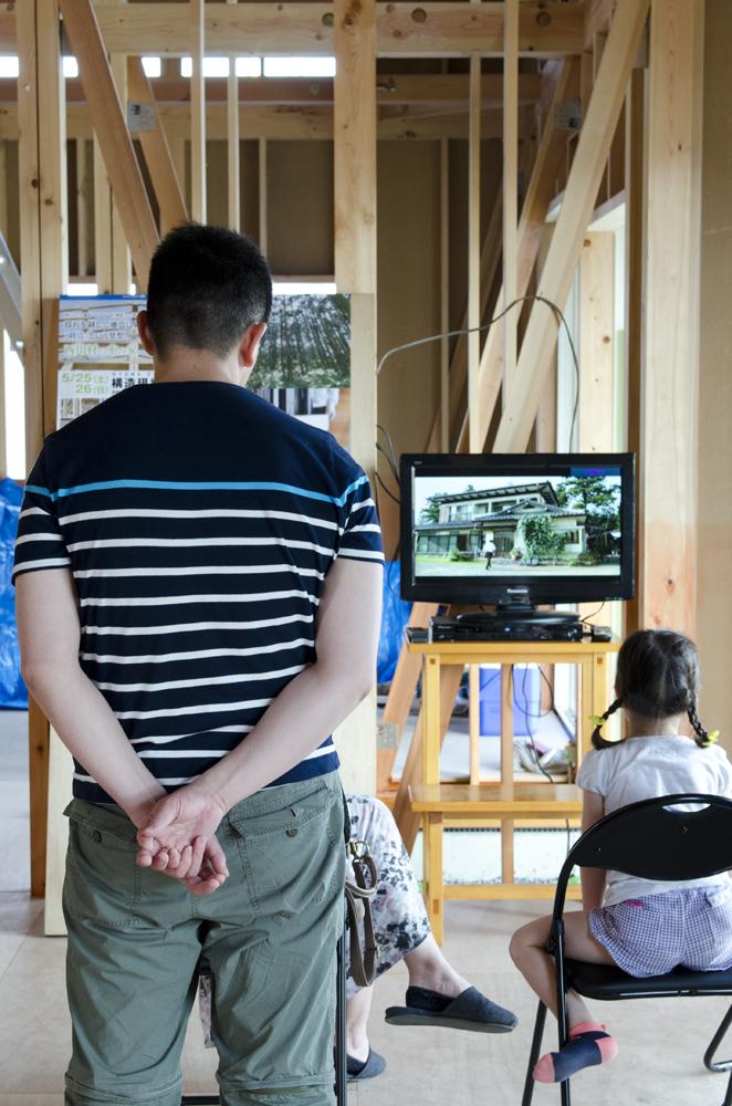 木の家 構造見学会1
