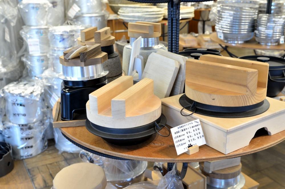 鍋や料理道具