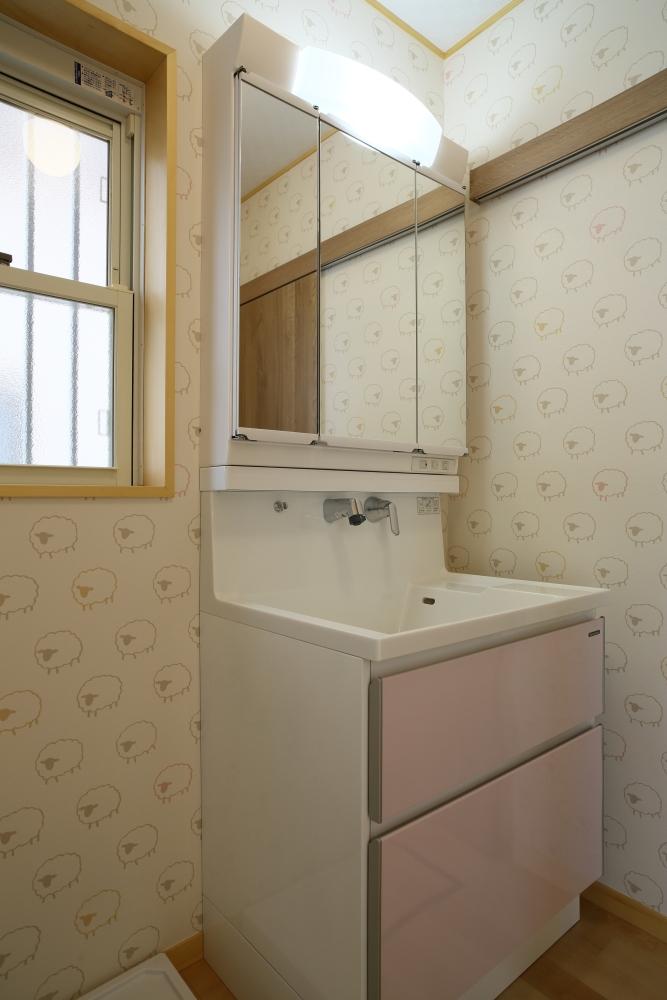 注文住宅 共和木材 毛呂山町 洗面所