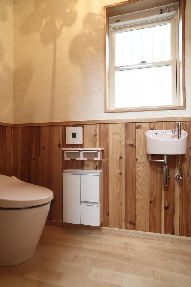 注文住宅 共和木材 毛呂山町 トイレ