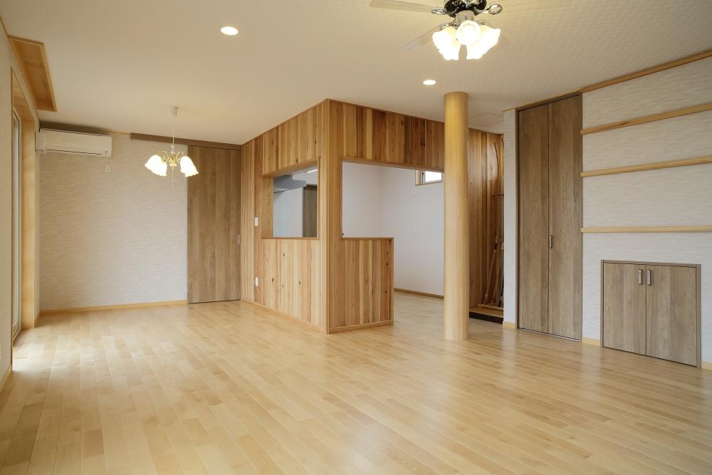 リビング・ダイニング 注文住宅 共和木材 毛呂山町