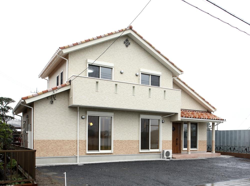 注文住宅 共和木材 毛呂山町 木の家 外観
