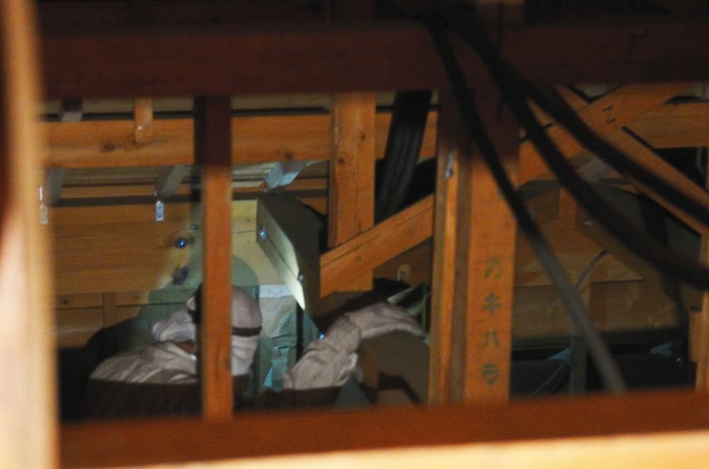 耐震診断 小屋裏