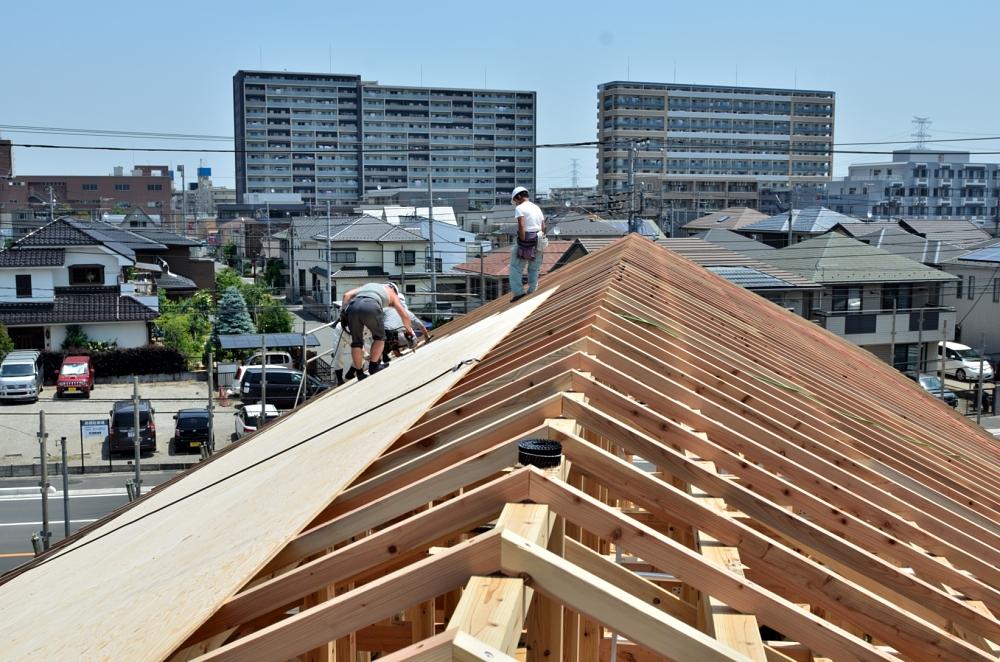 屋根下地 構造用合板