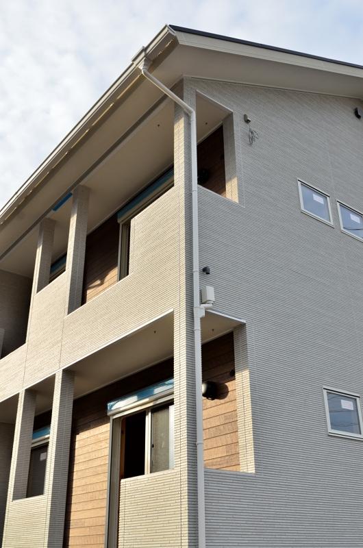 鶴ヶ島若葉駅西口5分 新築木造賃貸アパート外観