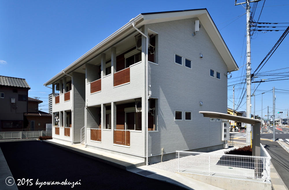 鶴ヶ島 アパートメント 外観