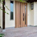 鳩山町で玄関ドア交換のリフォーム工事をしました。